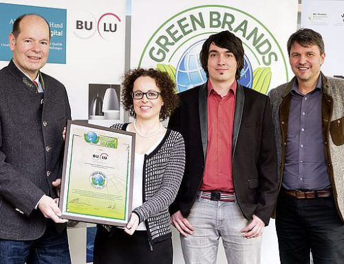 BuLu erhält den 3. GREEN BRANDS Award