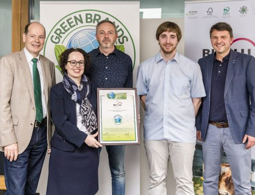BuLu awarded the GREEN BRAND SEAL for the fourth time